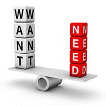 Wants-vs-Needs